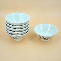 Bộ 6 chén ăn melamine cao cấp phong cách Hàn Quốc