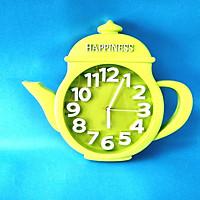 Đồng hồ xài pin kim trôi ấm trà