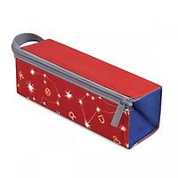 Bóp Viết Lớp Học Mật Ngữ HooHooHaHa Power Boxy - Red (10.5 x 27.5 cm)