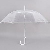 Ô dù trong suốt phong cách Hàn Quốc - Đi mưa phụ kiện chụp ảnh