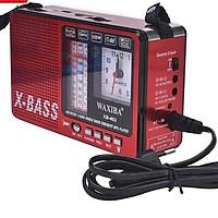 ĐÀI RADIO USB NGHE NHẠC XB-401C FM/AM/SW, Phát nhạc thẻ nhớ, Đèn pin, Đồng Hồ. GIAO MÀU NGẪU NHIÊN >HÀNG CHÍNH HÃNG