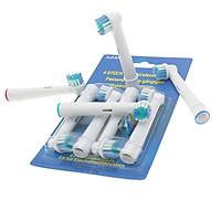 Bộ 4 Đầu Bàn Chải đánh răng điện - Cho Răng Nhạy Cảm - cho máy Oral–B - Xuất xứ: Đức