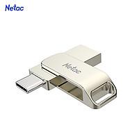 Netac U783C Type-C + USB Double Interface Flash Drive Plug & Play Mobile Phone Memory Expansion U Disk Silver
