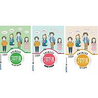 Combo 3 Cuốn Joyful Chinese - Vui Học Tiếng Trung ( Từ Vựng + Ngữ Pháp + Tập Viết ) tặng kèm bookmark