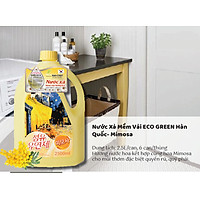 Nước Xả Đậm Đặc Eco Green Hàn Quốc - Hương Hoa Mimosa 2500ML