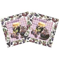 Combo 2 Xấp Khăn Giấy Ăn Trang Trí Bàn Tiệc Tissue Napkins Design Ti-Flair 345701 (33 x 33 cm) - 40 tờ