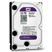 Ổ Cứng Camera WD Purple 2TB/64MB/3.5 IntelliPower - WD20PURZ - Hàng Chính Hãng