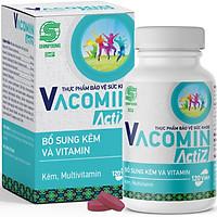 Thực Phẩm Bảo Vệ Sức Khỏe bổ sung vitamin tổng hợp, vitamin nhóm B, E, C và Kẽm hữu cơ Shinpoong Vacomin ActiZ - Hộp 120 viên