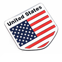 Tem Cờ Mỹ USA Dán Trang Trí Ô Tô, Xe Máy (5 x 5 cm)