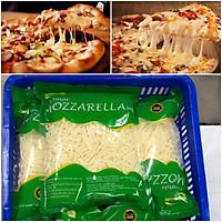 Phô mai Mozzarella bào túi 1kg