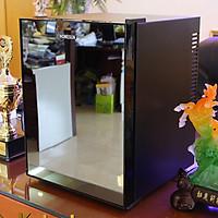 Tủ mát - Minibar, Tủ bảo quản mỹ phẩm, Model: BCH-40B2, Thể tích 40L, Công suất 65W, Điện áp 220VAC, Cửa gương sang trọng, Không tiếng ồn, Tiết kiệm điện năng, Thương hiệu Homesun, Hàng chính hãng