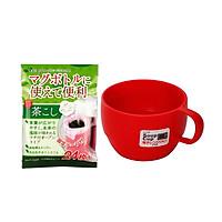 Combo Cốc Uống Trà INOMATA kèm  Set 24 Túi Lọc Trà, Cà Phê Có Băng Keo Cố Định - Nội Địa Nhật Bản