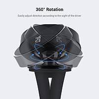 Giá đỡ điện thoại từ tính TOPK D19/D20 giá đỡ trên xe ô tô cho điện thoại iPhone, Samsung, Xiaomi,... - Hàng chính hãng