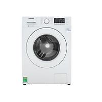 Máy giặt Samsung Inverter 8 kg WW80J52G0KW/SV - Hàng Chính Hãng + Tặng kèm bình đun siêu tốc