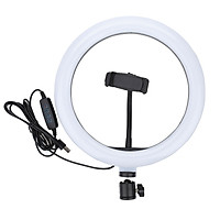 Đèn led Livestream 33cm Ring Light + Tripod+ Đầu kẹp