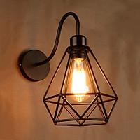 Đèn gắn tường trang trí kiểu công nghiệp hình kim cương VT11