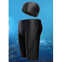 Quần bơi nam dáng lửng cao cấp kèm nón bơi