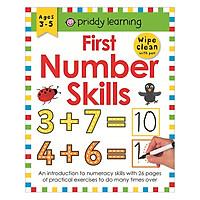 First Number Skills: Wipe Clean Workbooks