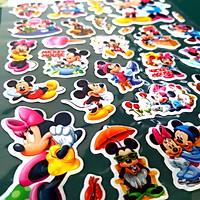 Combo 8 tờ sticker dán cho trẻ em