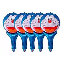Combo 5 bóng bay nhôm hoạt hình tráng gương (mẫu ngẫu nhiên)