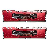 Bộ 2 Thanh RAM PC G.Skill 16GB (8GBx2) Flarex Tản Nhiệt DDR4 F4-2400C16D-16GFX/ 16GFXR - Hàng Chính Hãng