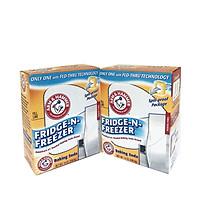 combo 2 hộp Baking Soda khử mùi tủ lạnh Arm & hammer Mỹ 396.8gr