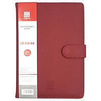 Sổ Da Edition Daily Book B5 4599 - 200 Trang - Màu Đỏ