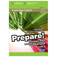 Cambridge English Prepare! Level 6 Teacher's Book with DVD and Teacher's Resources Online: Level 6