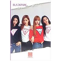 Bộ 5 Vở South Star Kpop - 4 Ô Ly Ngang (2mm) - 200 Trang Cả Bìa - ĐL 58 - Mẫu 2 - Black Pink - Màu Tím