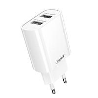 Cốc sạc đa năng Remax RP-U35 tích hợp 2 cổng USB max 2.1A - Hàng nhập khẩu