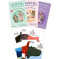 Combo Nuôi Con Không Phải Là Cuộc Chiến 2 (Trọn Bộ 3 Tập) + Combo Ehon Nhật Bản Ai Ở Sau Lưng Bạn Thế: Dành Cho Trẻ Từ 0 - 3 Tuổi