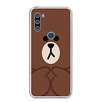 Ốp lưng điện thoại VSMART ACTIVE 3 - Silicon dẻo - 0048 BROWN09 - Hàng Chính Hãng