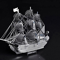 Mô hình thép 3D tự ráp tàu hải tặc Black Pearl