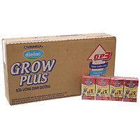 Thùng 48 Hộp Sữa Bột Pha Sẵn Vinamilk Dielac Grow Plus (110ml/1 Hộp)