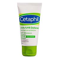 Kem Chống Nắng Cung Cấp Màng Bảo Vệ Cao Cetaphil UVA/UVB Defense Very High Sun Protection SPF50+/UVA28 (50ml)