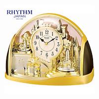 Đồng hồ để bàn Nhật Bản Rhythm 4SG738WR18-  Kt 32.4 x 22.7 x 12.5cm, 1.65kg