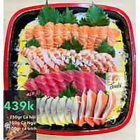 [Chỉ giao HN] Set sashimi tổng hợp 500gr