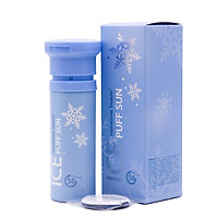 Xịt chống nắng Hàn Quốc pha lê tuyết mát lạnh cao cấp 3 in 1 Ice Puff Sun Mersenne Beaute SPF50+ PA+++ (100ml) – Hàng chính hãng