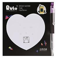 Giấy Note Tim Kèm Bút Bubu BLTP-0051 - Hình Thẻ Nhớ