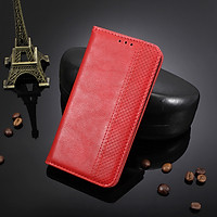 Bao da dạng ví, nam châm dành cho Samsung Galaxy Note 10 Plus, Note 10 Pro Luxury Leather Case - Hàng nhập khẩu