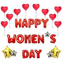 BỘ BONG BÓNG HAPPY WOMEN DAY