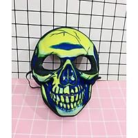 Mặt nạ hình đầu lâu chất mềm dẻo  hoá trang halloween