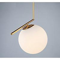 Đèn led thả trần phong cách Bắc Âu hiện đại  Ø20cm 12W có thể diều chỉnh tông màu