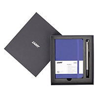 Gift Set Lamy Notebook A6 Softcover Blue + Lamy Logo Blue - GSA6-Lo001