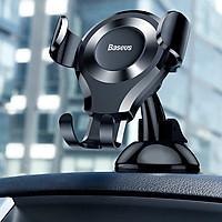 Giá đỡ điện thoại đóng mởtự động hiệu Baseus O-scm Type Gravity trên xe hơi, ô tô cho điện thoại iPhone, Samsung, Oppo, Huawei, Xiaomi(chế độ khóa tự động an toàn, cực kỳ chắn chắn, vật liệu cao cấp) - Hàng nhập khẩu
