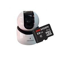 Camera IP Robot Wifi Hikvision DS-2CV2Q01EFD-IW + Tặng thẻ nhớ Hikvision 32GB - Hàng Chính Hãng