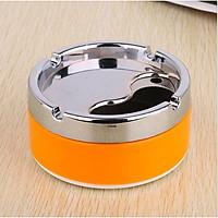 Gạt tàn thuốc nắp xoay - gạt tàn thuốc inox - gạt tàn inox - GTT003