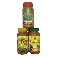 Combo 3 loại Phân bón lá cao cấp NPK chuyên cho hoa Lan và cây cảnh giúp phát triển toàn bộ quá trình của hoa KINA123
