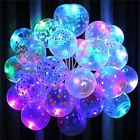 Combo 5 quả bóng bay phát sáng,tiện lợi cho sinh nhật, trang trí - Giao màu ngẫu nhiên