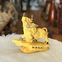 Trâu Phong Thuỷ Đế Xi Vàng.